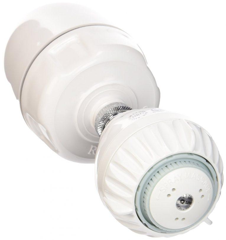 Rainshow'r CQ-1000-MS Shower Filter with Massaging Shower Head