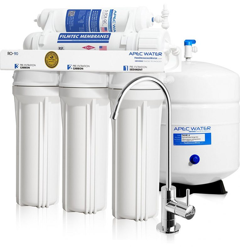 APEC Water Ultimate RO-90 GPD Drinking Water Filter System Review