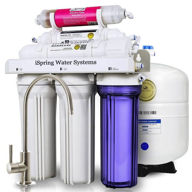 iSpring RCC7AK 6-Stage Residential Under-Sink Reverse Osmosis Water Filter System Review