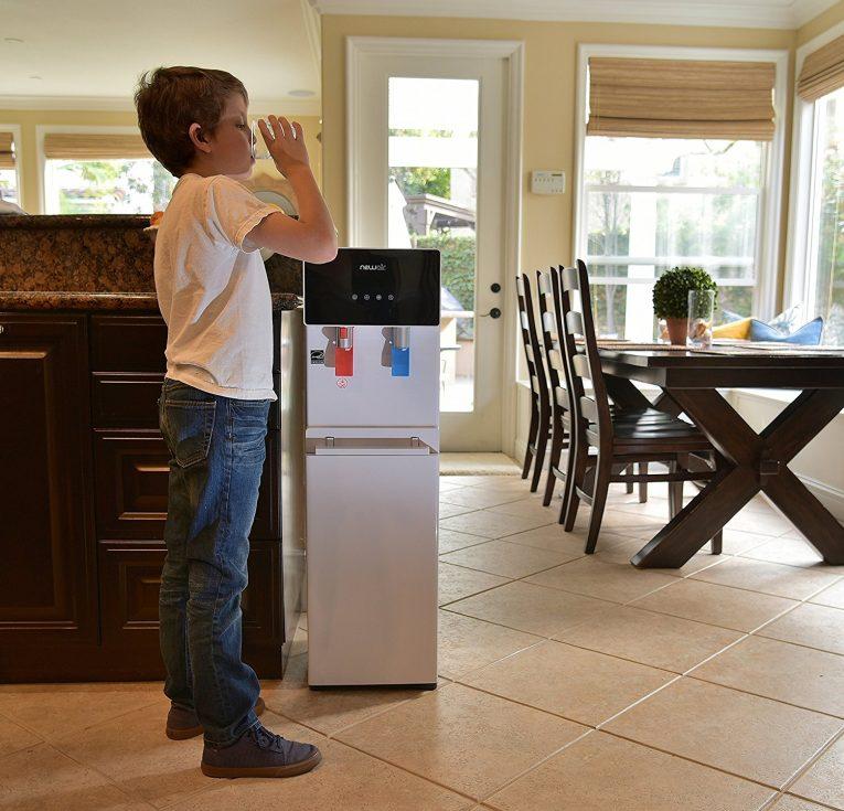 NewAir WAT40W Pure Spring BPA Free Hot & Cold Bottom Loading Water Dispenser