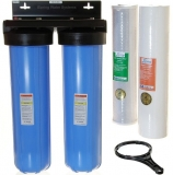 iSpring WGB22B 2-Stage 20-Inch Big Blue Whole House Water Filter Review
