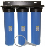 iSpring WGB32B Three Stage 20- Inch Big Blue Whole House Water Filtration System Review